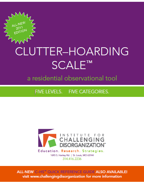 ICD Clutter Hoarding Scale cover